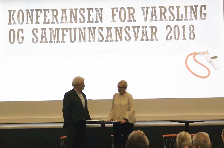 Youtube: Konferanse for Varsling og samfunnsansvar