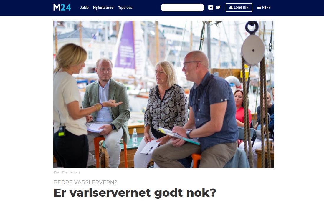 Arendalsuka 2018: Får vi et bedre varslervern?