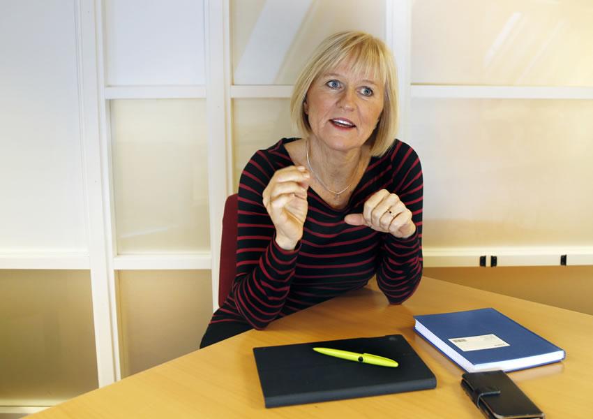 Unio-leder Ragnhild Lied. Foto Unio/Sol Nodeland