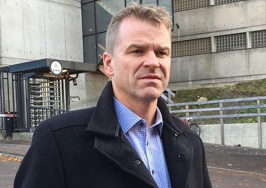Sigve Bolstad. Foto: Politiets Fellesforbund